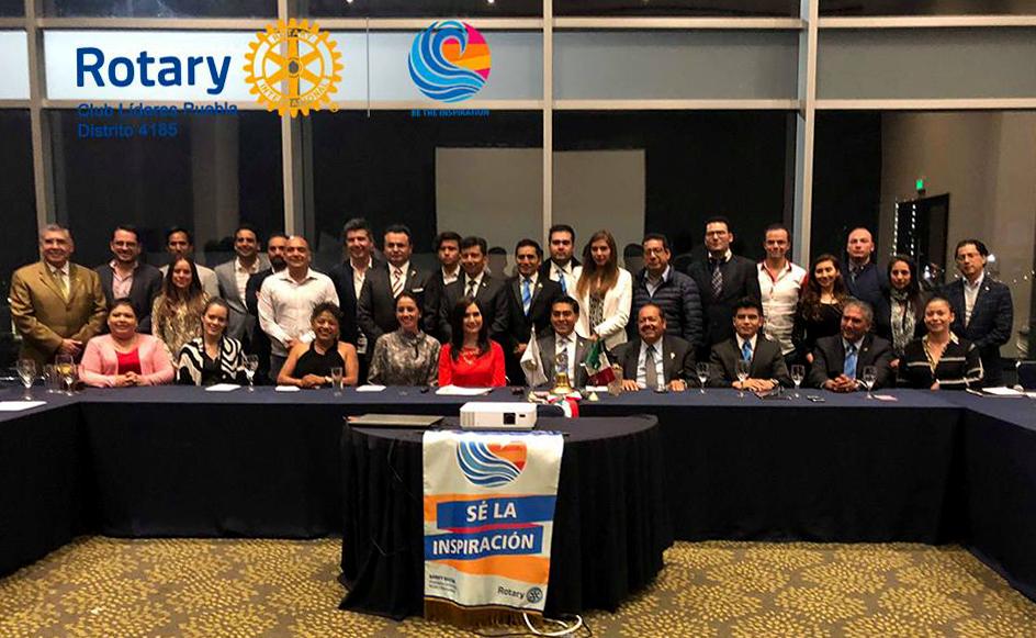 Líderes de Puebla: Reunión rotaria