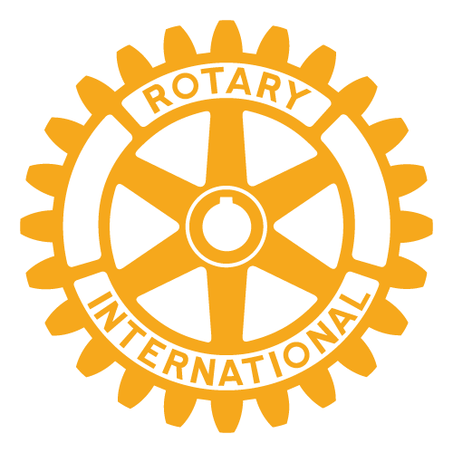 Logo de Rotary International en transparente